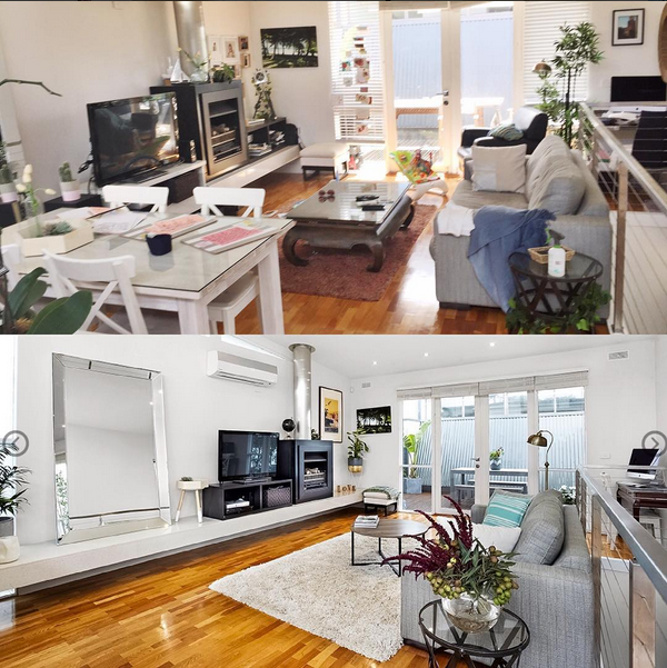 Ormond Rd Elwood De Clutter Beforeafter Style Curator