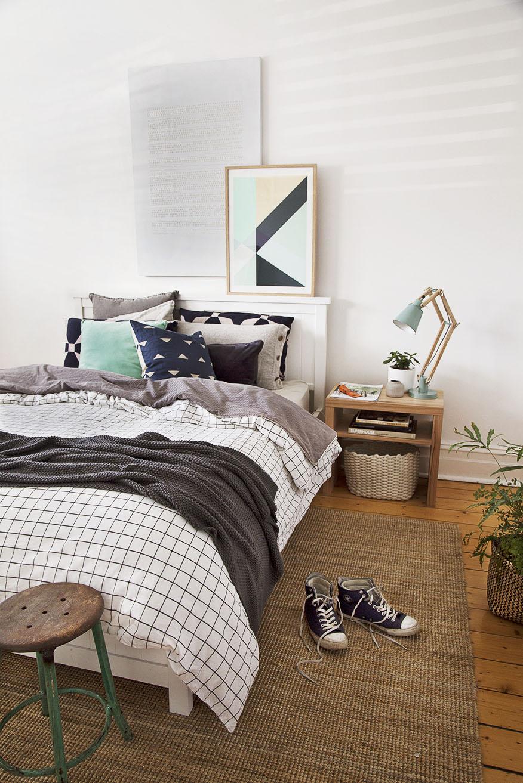 White room interiors bedroom