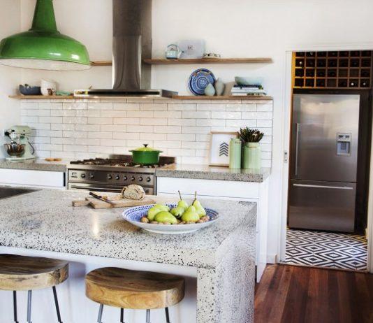 White room interiors kitchen