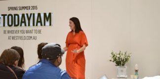 Gina hosting styling workshop
