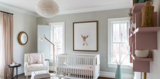 Nursery by Nancy Twomey via Washington Life