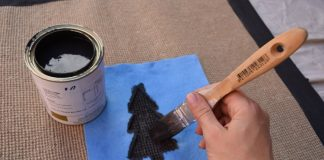 Paint christmas trees