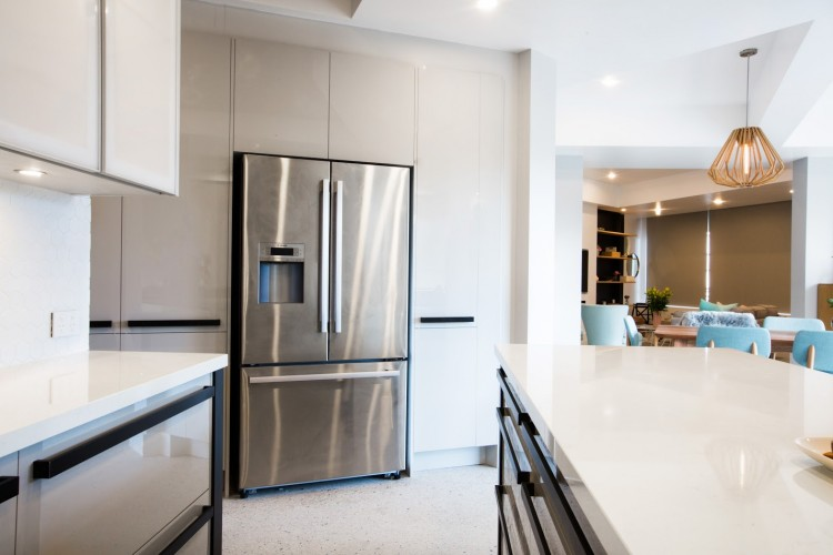 Kitchen fridge and cabinetry kitchen plumbing tips