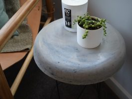 Concrete top