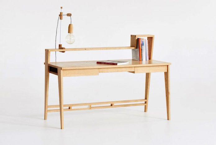 Curious Tales desk