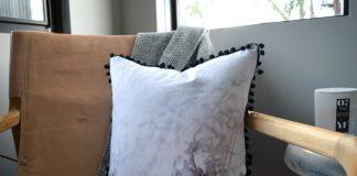 Finished cushion