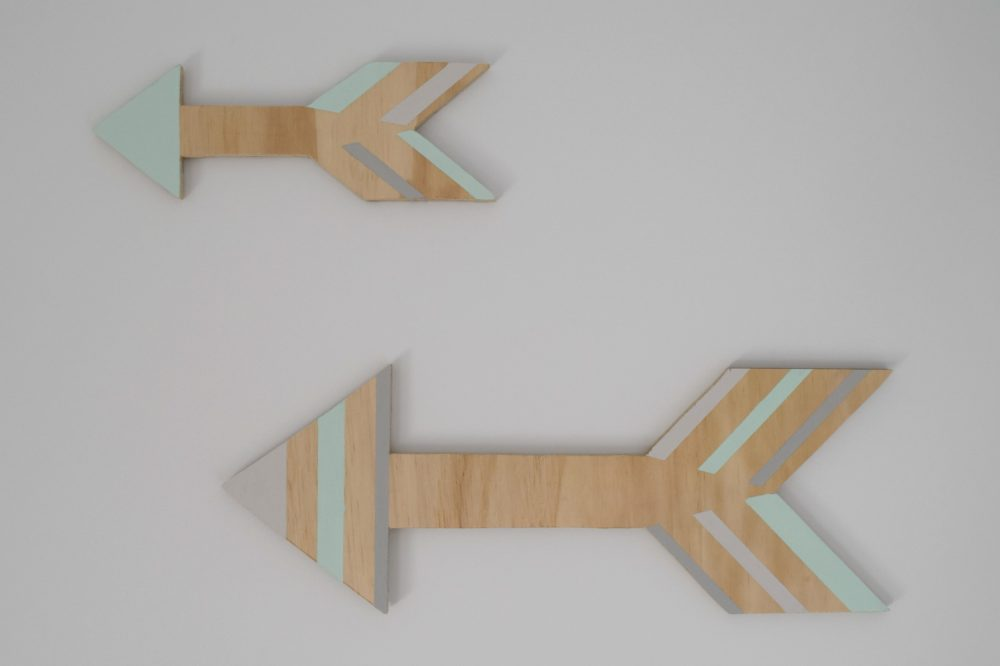 Finished arrows