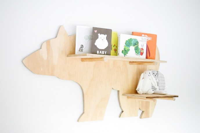 Bear shelf