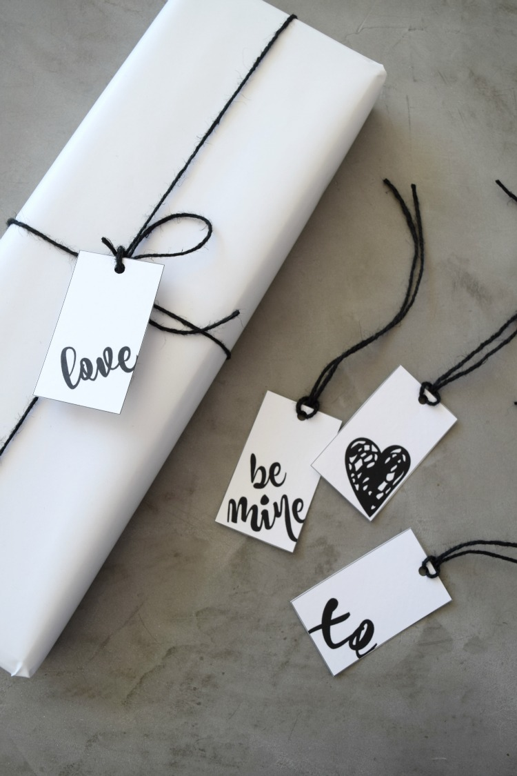 Gift wrap and tag