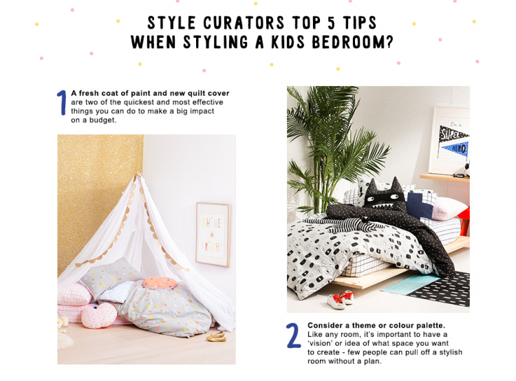 Kids room styling - STYLE CURATOR