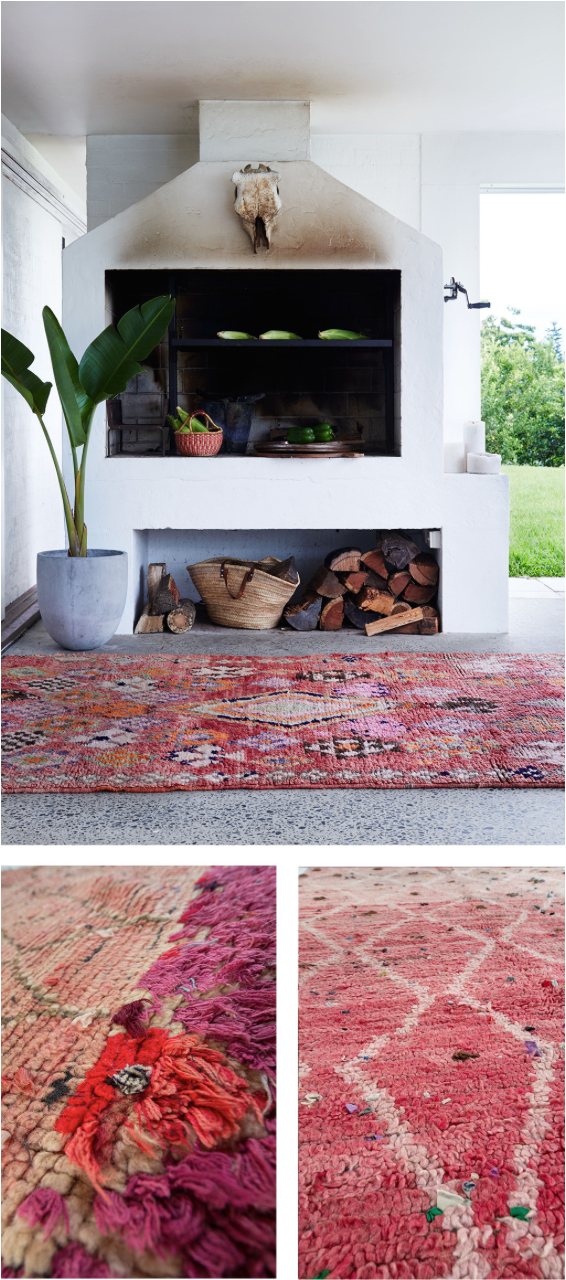 Moroccan rug trend