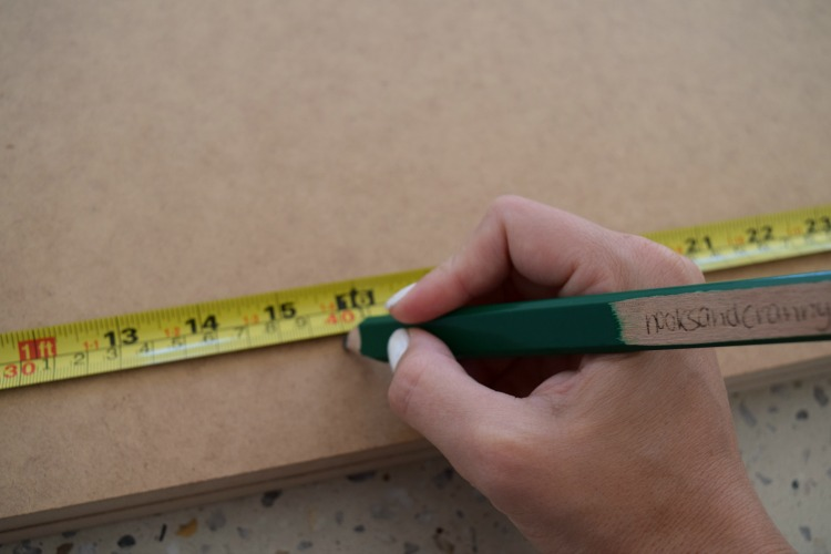 Measure drill holes