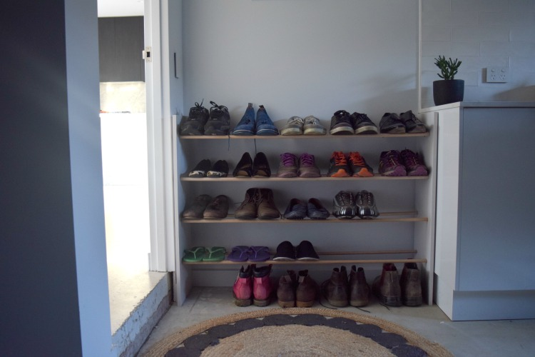 New shoe rack