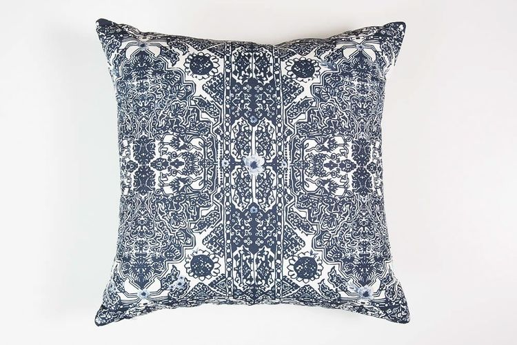 Indigo Garden cushion
