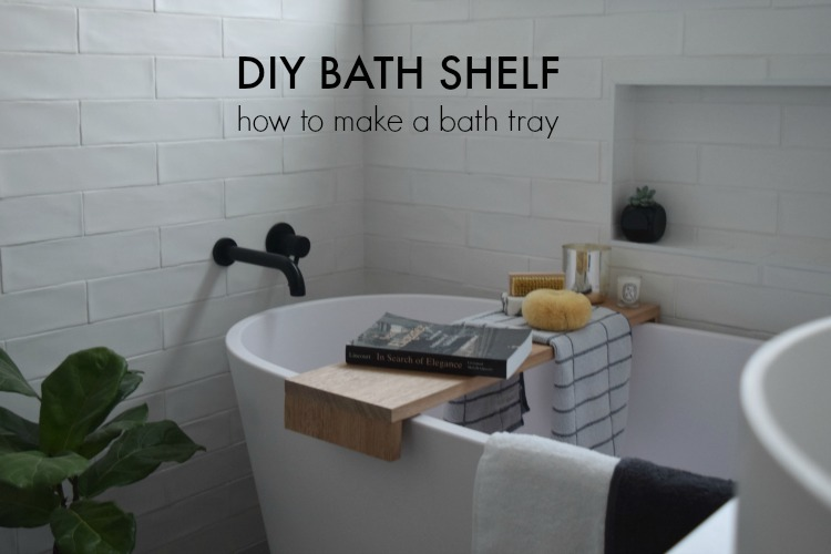 Make a bath tray