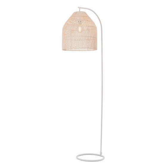 Rattan basket floor lamp stylish floor lamps