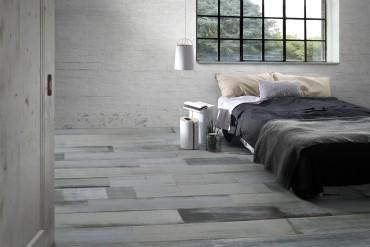 Grey wash timber tile