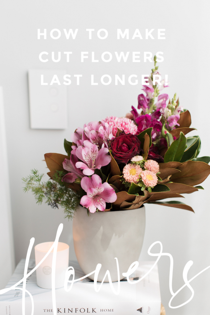 Extend the life of your flowers