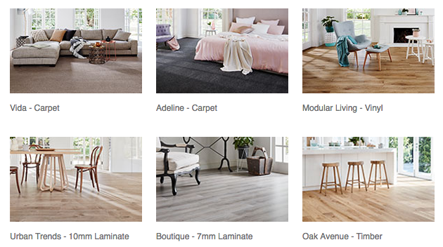 Flooring range
