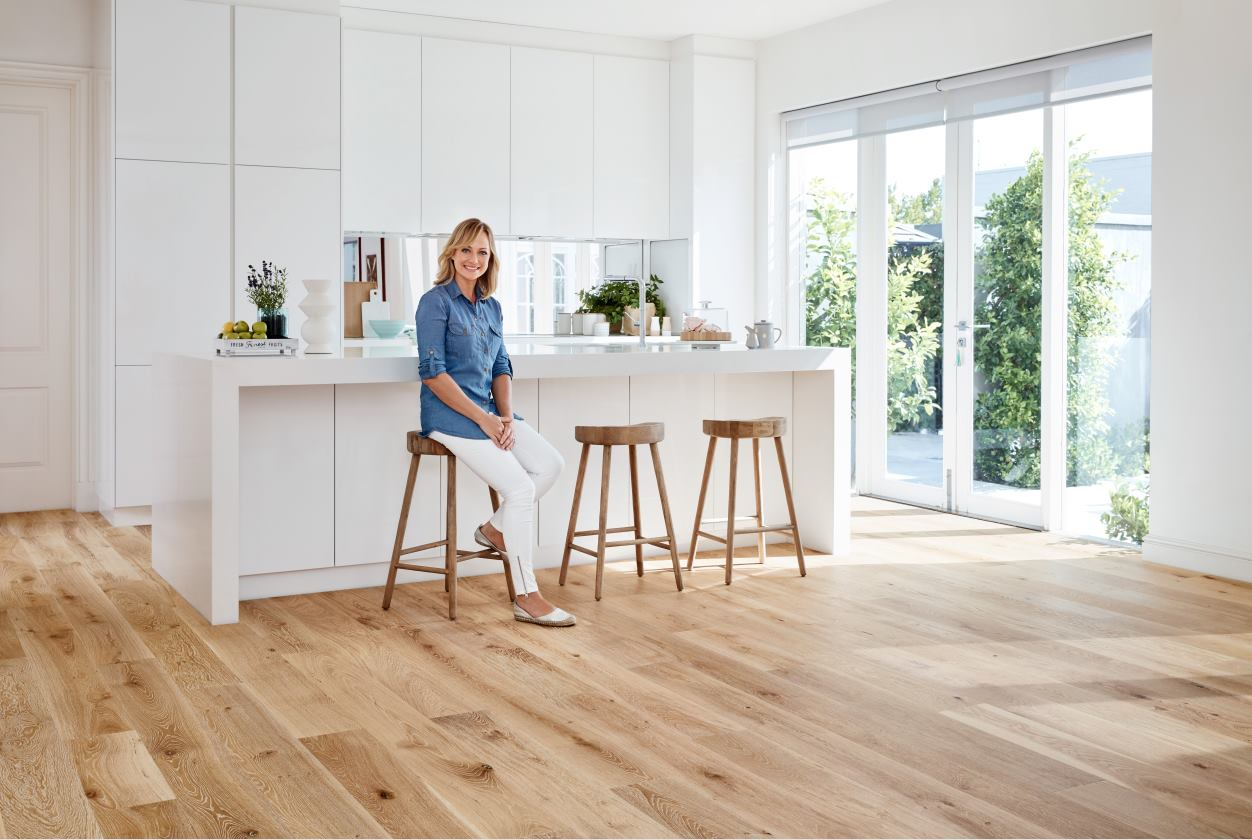 Shelley Craft chats with us about her flooring range in collaboration with Carpet Court