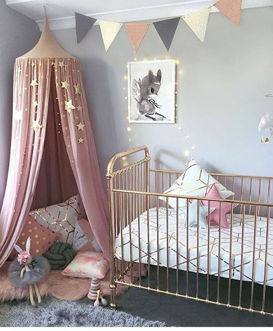 Stylish bump nursery
