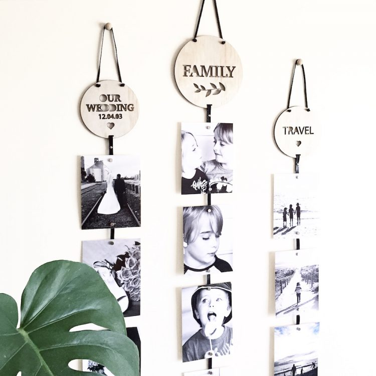 Memory drops, a stylish way to personalise your home