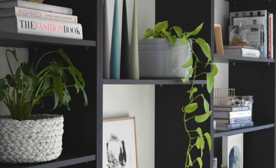 Styling a bookshelf: Shelf styling tips and tricks
