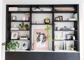 Full shelf styling