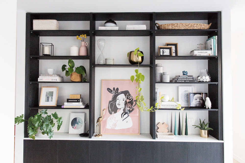 Styling A Bookshelf Shelf Tips And Tricks L STYLE CURATOR