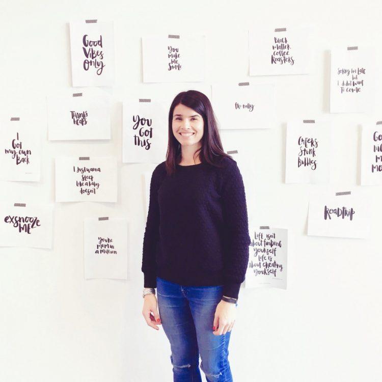 Shenton & Thrello hand lettering and design