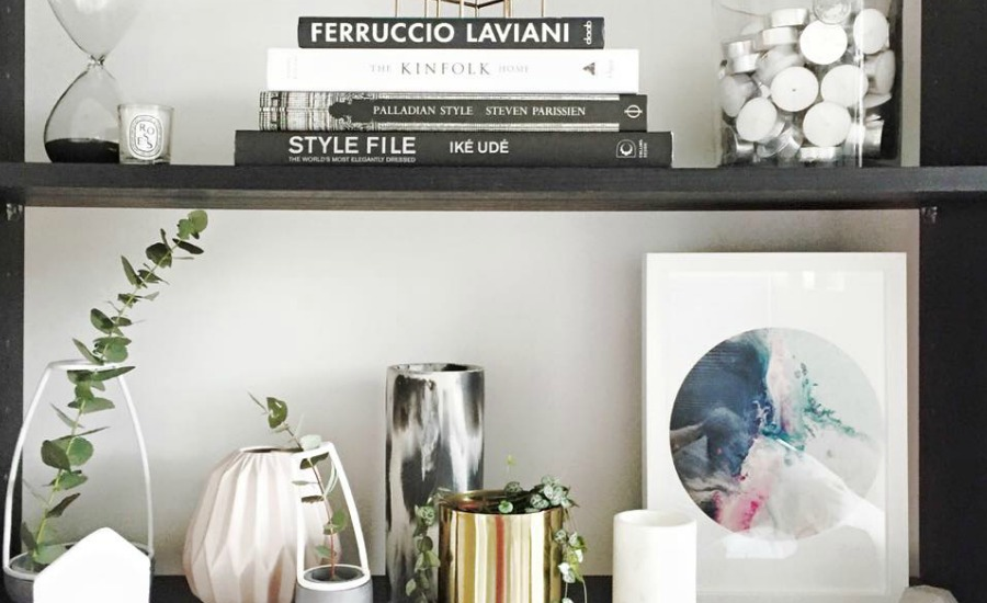 #stylecuratorchallenge is here! August Challenge: Style Your Shelf #shelfie