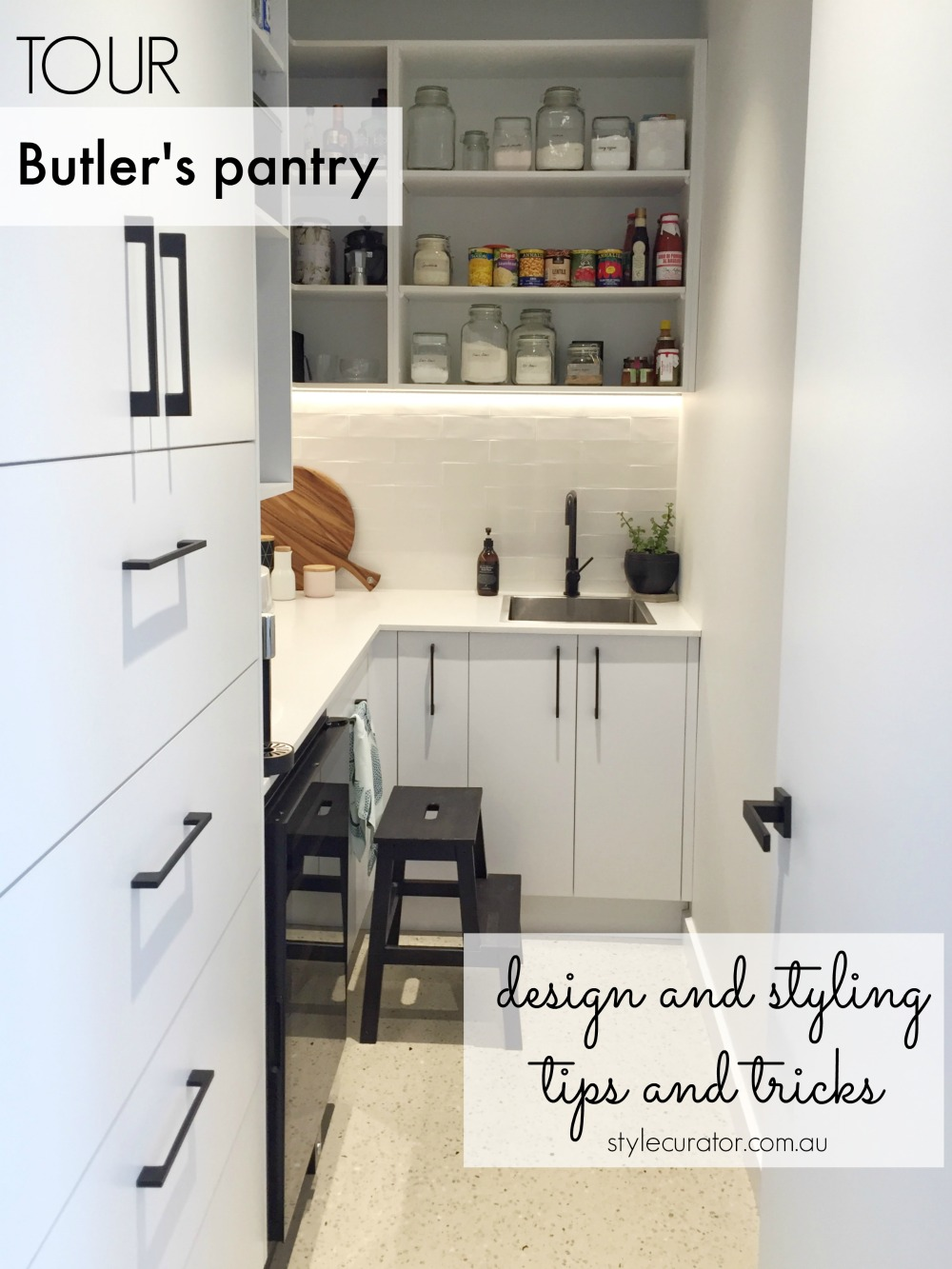Feature butler's pantry image