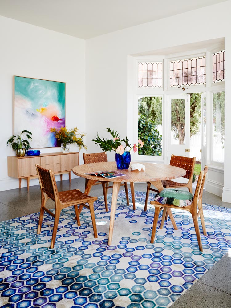Modern Australian dining space
