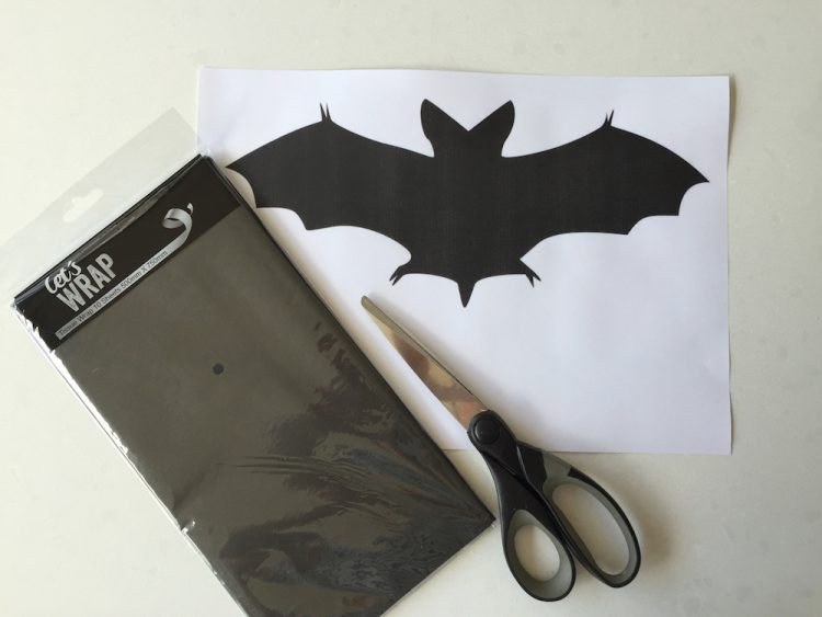 Bat cut out