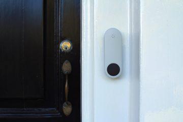 Sleek doorbell
