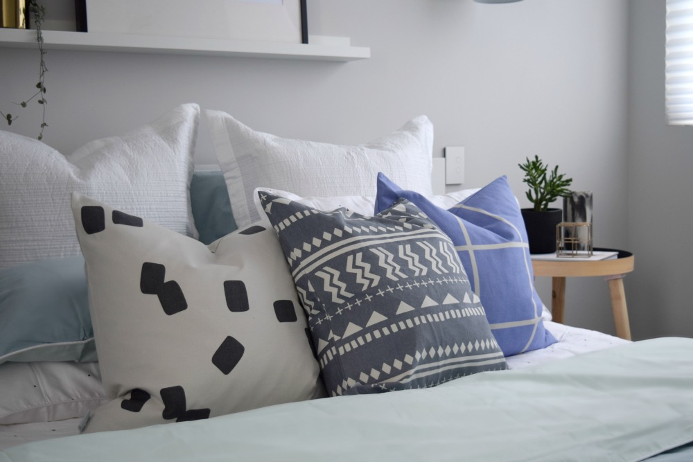 Mix and match cushion prints