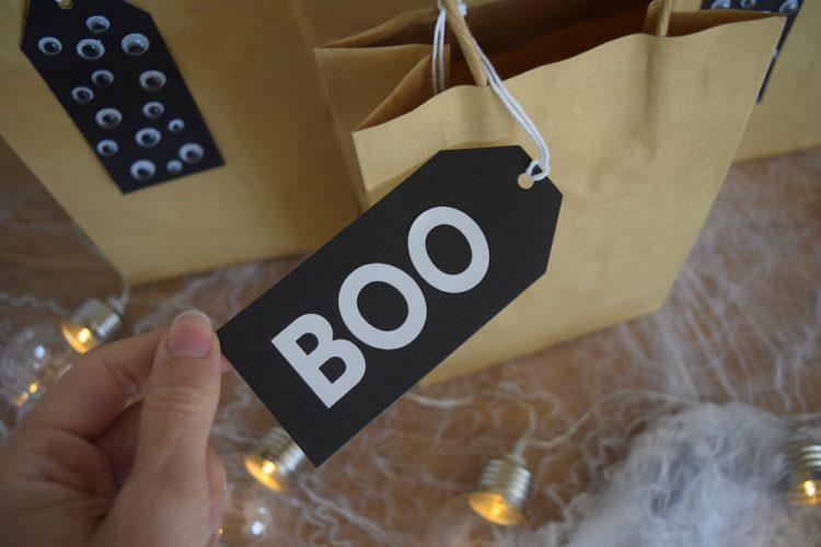 Booo tag