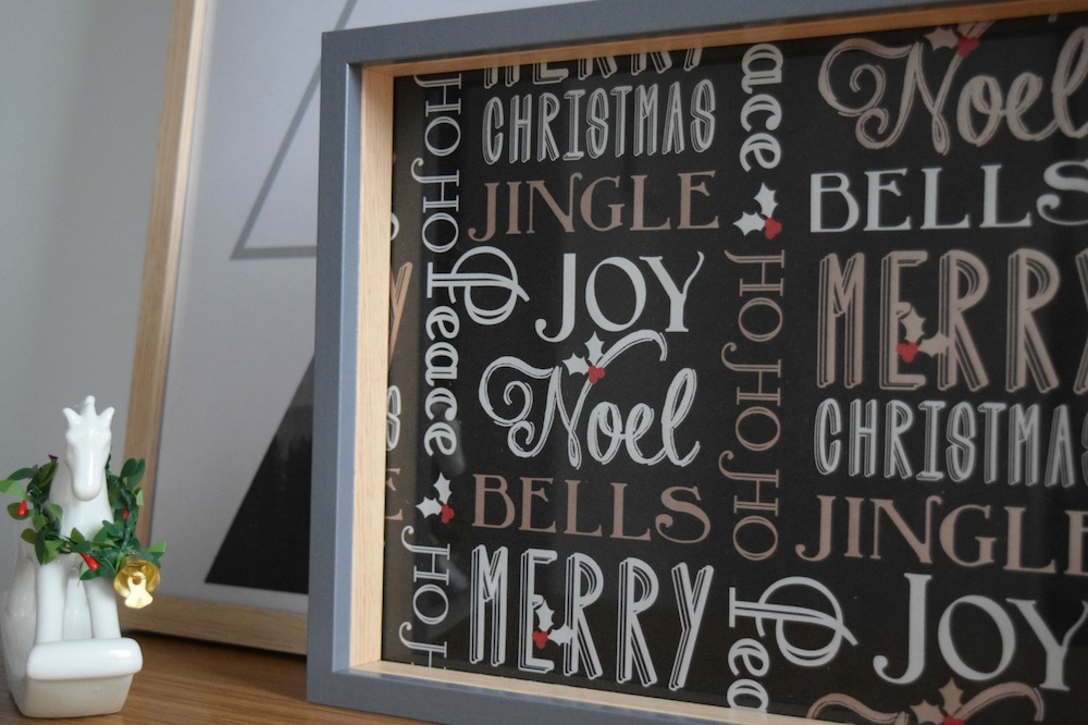 Christmas frame idea