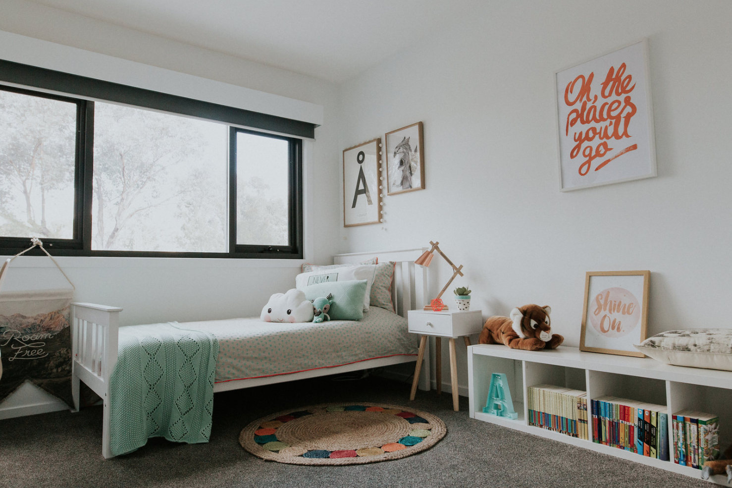 Kids room luxurious and contemporary home