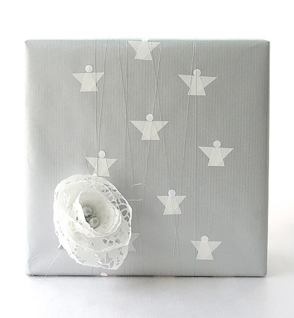 Angel gift wrap