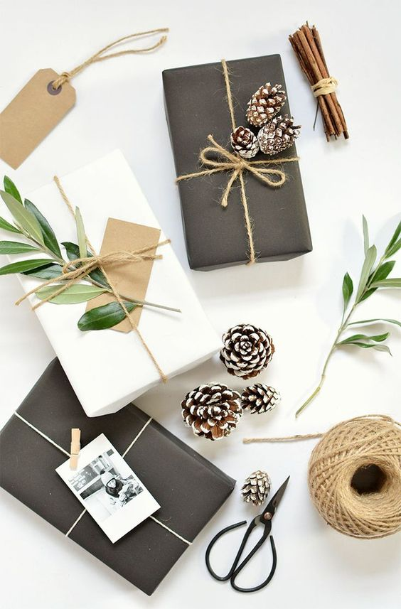 Christmas gift wrapping paper ideas