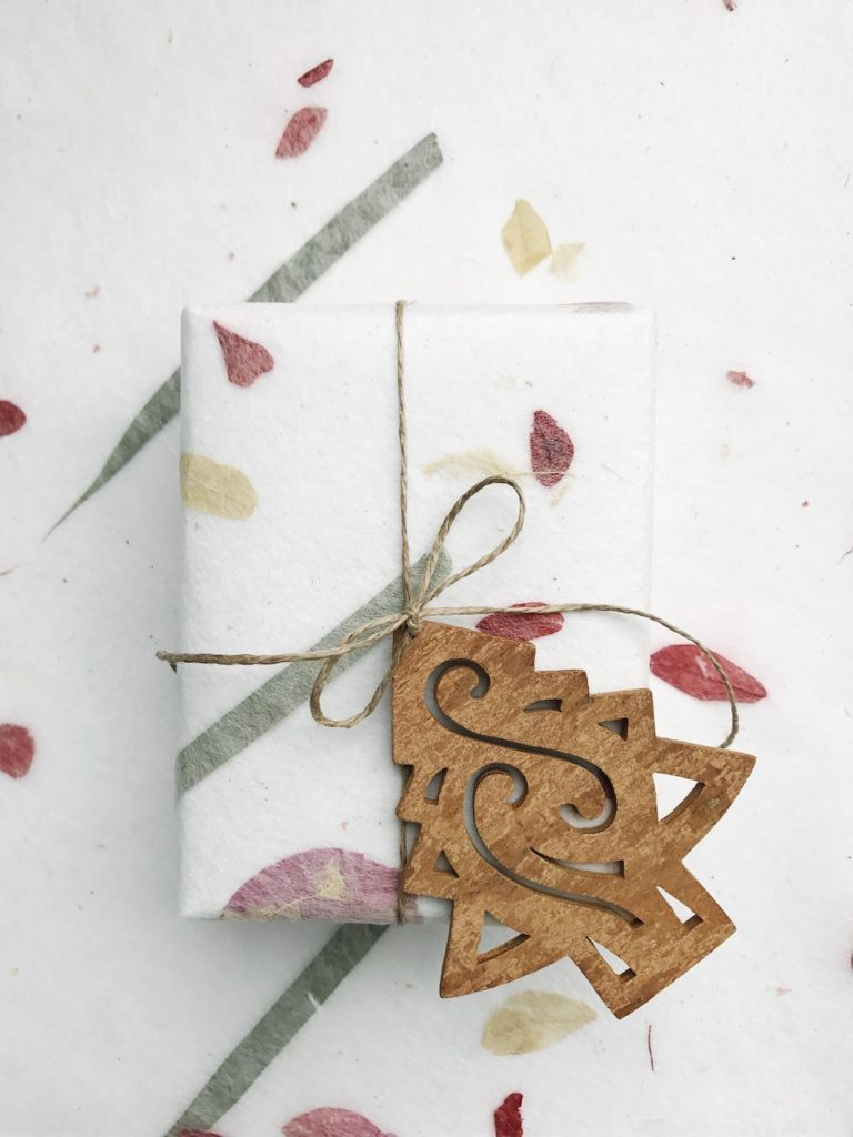 Ethical gift wrapping
