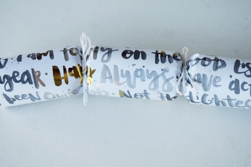 Tie twine around the cracker