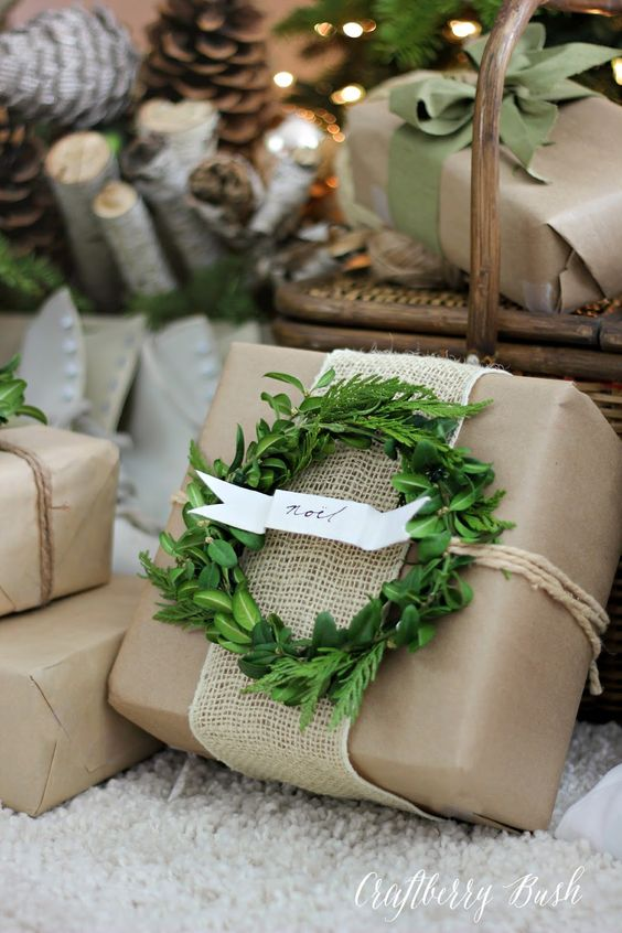 50 of the most beautiful Christmas gift wrapping ideas ...