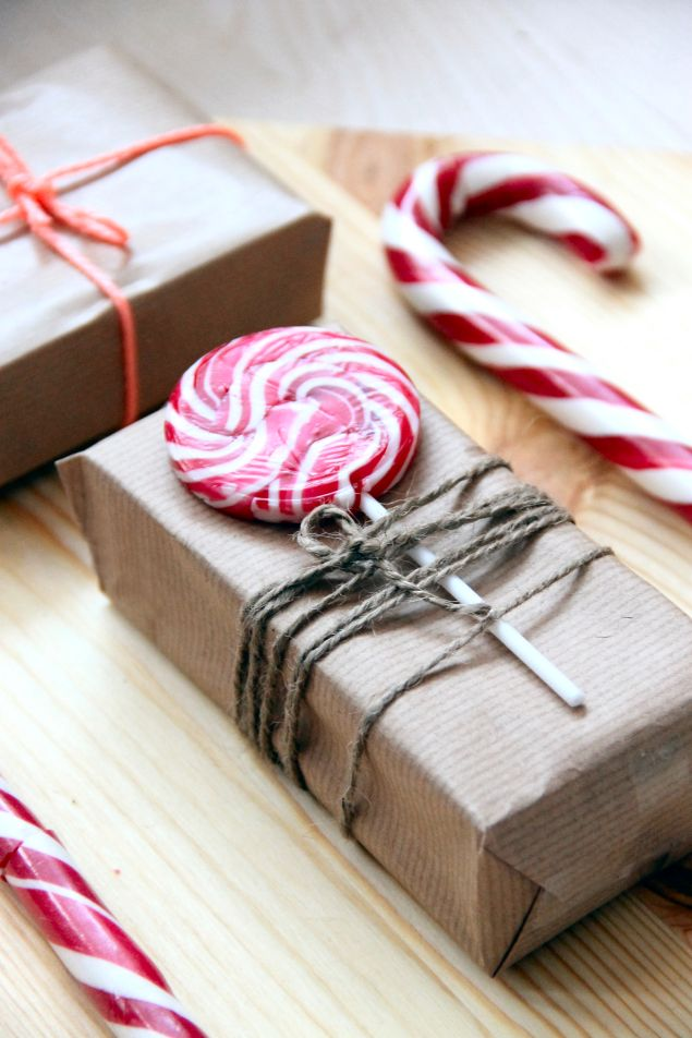 Sweet Christmas gift wrap