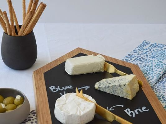 Nordic house cheese board