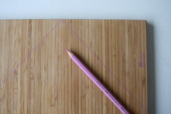 Mark cut lines