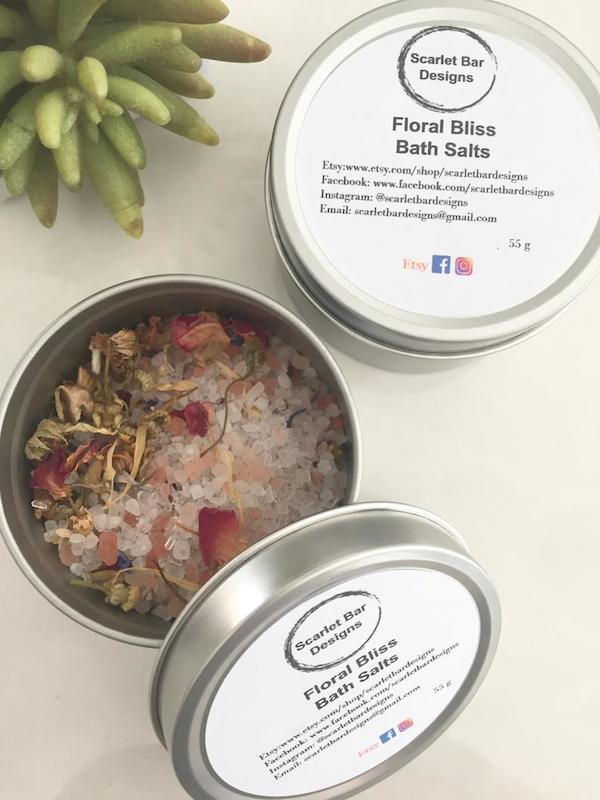 Floral bliss bath salts
