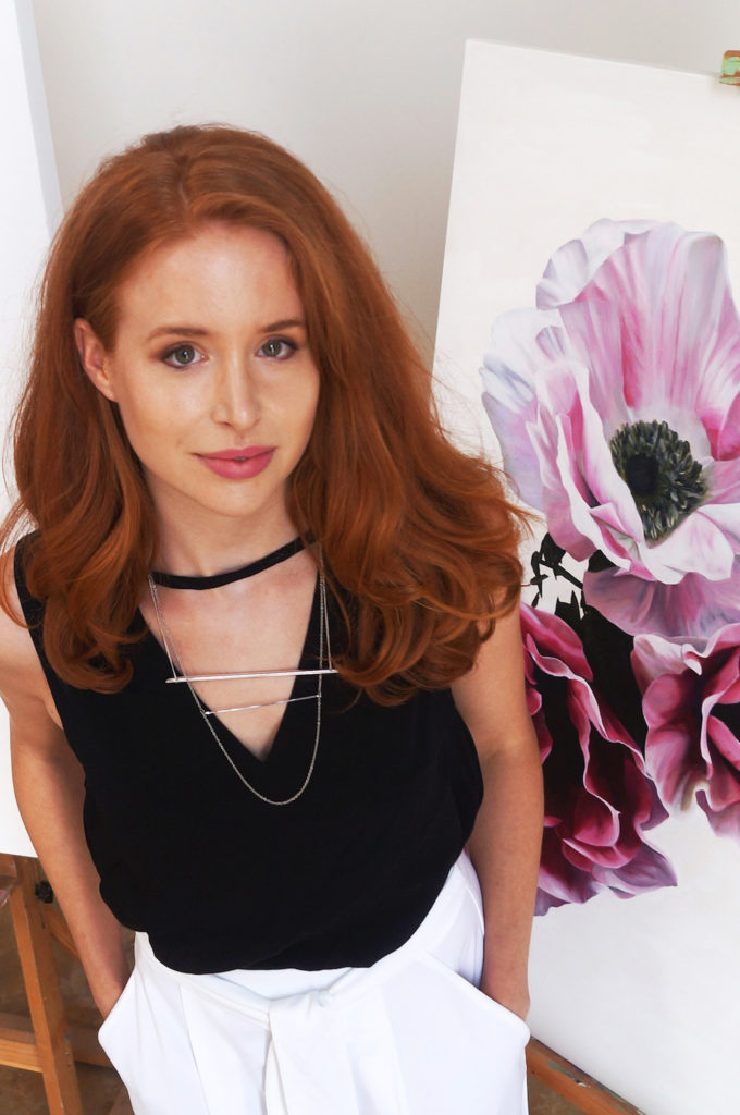 Freya Powell s vibrant floral artworks will stun you - STYLE CURATOR 3a84c7f97