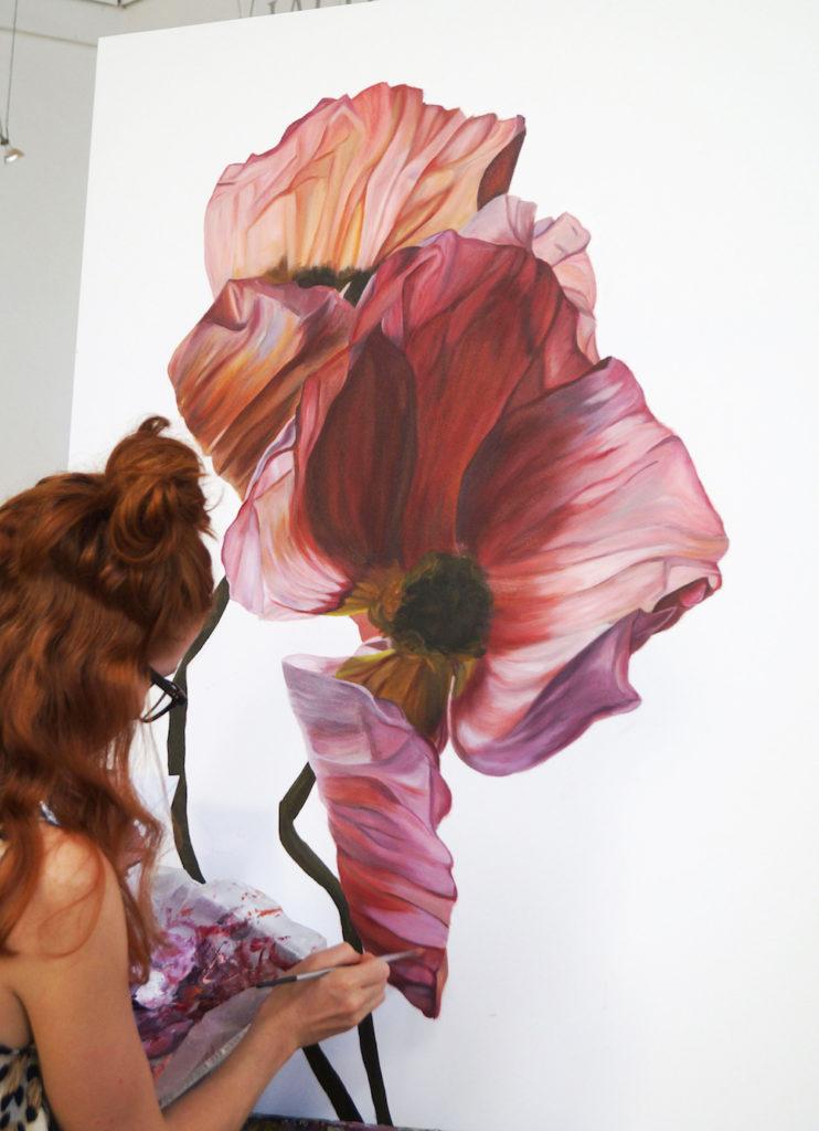 Freya painting
